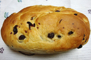 butter raisin toast bread