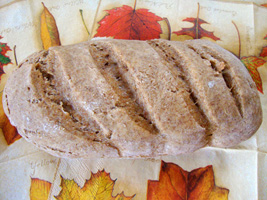 German grey bread (brown bread)